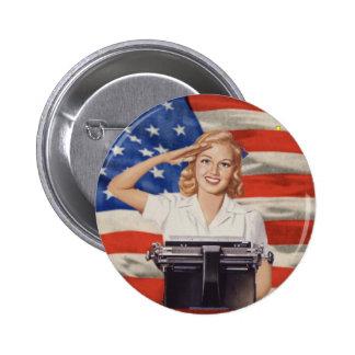 WW2 stenographer button