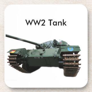 WW2 Tank Drink Coaster