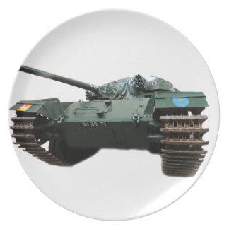 WW2 Tank Dinner Plates