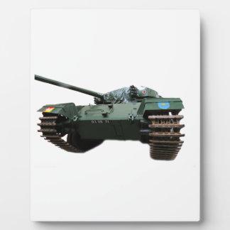 WW2 Tank Plaque
