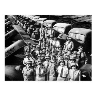 WW2 Truck Ladies 1940s Post Cards