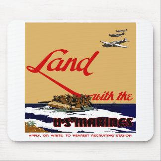 WW2 US Marine Recruiting Poster Mousepads