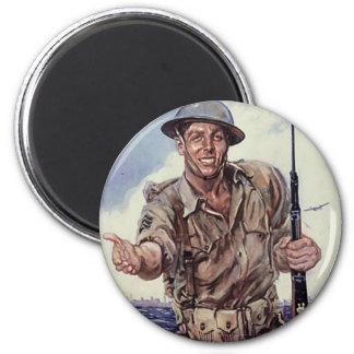 WW2 USMC 1 MAGNETS