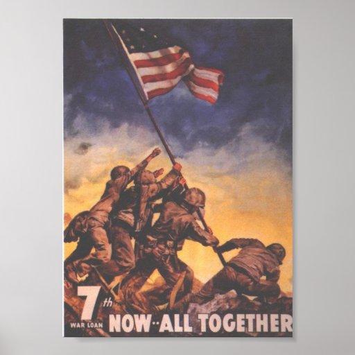 WW2 USMC 9 POSTER