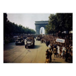 WW2 Victory Lap, 1944 Poster