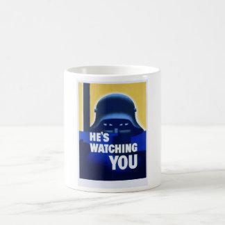 WW2 Wartime Propaganda Poster Coffee Mug