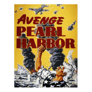WW2 Wartime Propaganda Poster Postcard