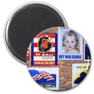 WW2 Wartime Propaganda Posters Magnet