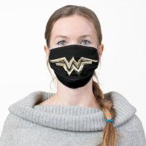 WW84 | Golden Wonder Woman Logo Adult Cloth Face Mask