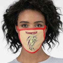 WW84 | The Cheetah Retro Comic Art Face Mask