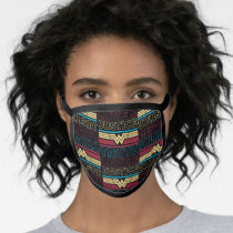 WW84 | Truth Love & Justice Pattern Face Mask
