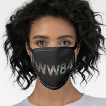 WW84 | TV Static Logo Face Mask