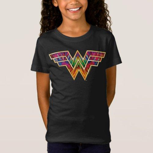 WW84  Wonder Woman Kaleidoscope Logo T_Shirt