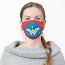 WW84 | Wonder Woman Only You Can Save The Day Adult Cloth Face Mask