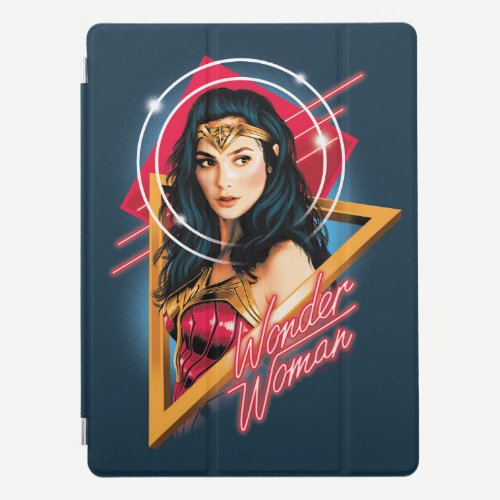 WW84 | Wonder Woman Retrowave Character Badge iPad Pro Cover