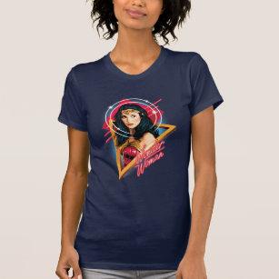 DC Comics Girls Wonder Woman 84 Standing Logo T-Shirt