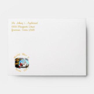 WW-2 Nose Art Envelopes