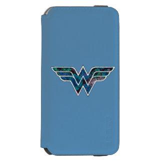 WW color de rosa azul Funda Billetera Para iPhone 6 Watson