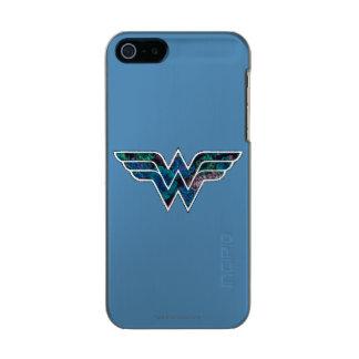 WW color de rosa azul Funda Para iPhone 5 Incipio Feather Shine