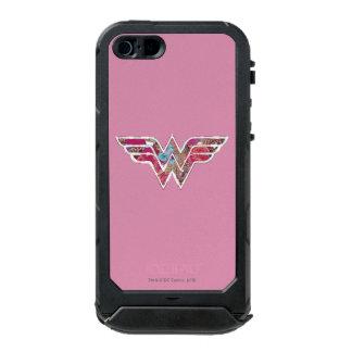 WW color de rosa rosado Carcasa De Iphone 5 Incipio Atlas Id