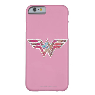 WW color de rosa rosado Funda De iPhone 6 Barely There