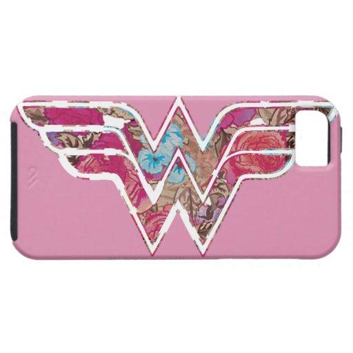 WW color de rosa rosado iPhone 5 Carcasa