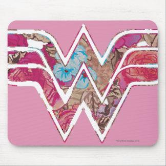 WW color de rosa rosado Alfombrilla De Ratones