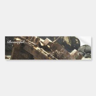WW II Landing Craft Wreck on Amchitka Island Bumper Stickers