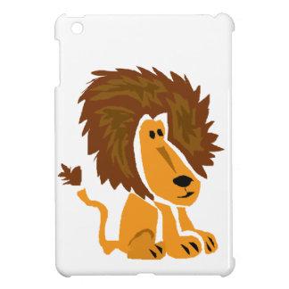 WW- Primitive Art Lion iPad Mini Covers