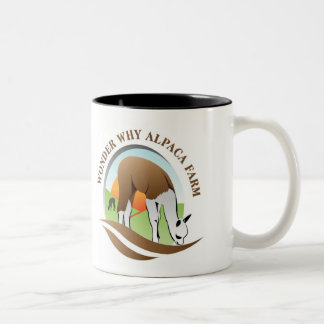 WWAF, Wisdom Begins In Wonder Two-Tone Coffee Mug