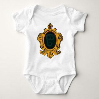 WWandspiegel spirit face embankment mirror ghost f Baby Bodysuit