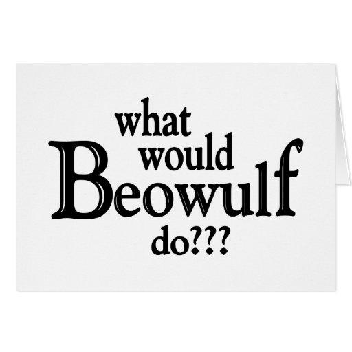 WWBD - Beowulf Greeting Card