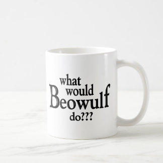 WWBD - Beowulf Classic White Coffee Mug