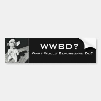 WWBD? BUMPER STICKER
