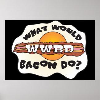 ¿WWBD divertido, qué el tocino haría? Póster