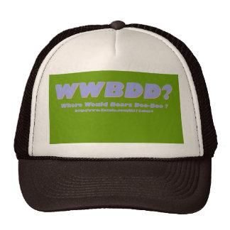 ¿WWBDD? ¿Donde doo-doo de los osos? Gorras De Camionero