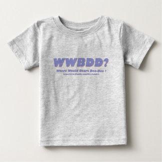 WWBDD? Where would bears doo-doo? Baby T-Shirt