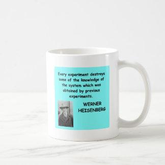 Wwerner Heisenberg quote Classic White Coffee Mug