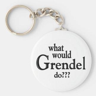 WWGD - Grendel Basic Round Button Keychain