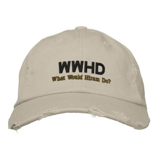 WWHD EMBROIDERED BASEBALL CAP