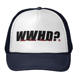 WWHD? (What Would Hera Do) Trucker Hat