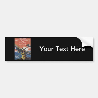 WWI Advertisement Enlisting Bumper Sticker