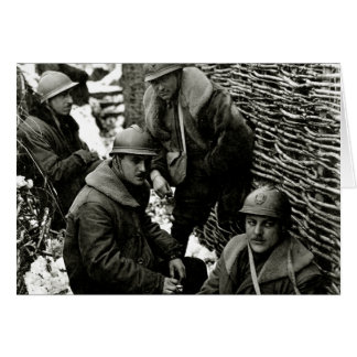 WWI American Field Service Card