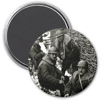 WWI American Field Service Fridge Magnet