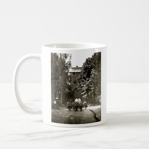 WWI American Soldiers in Ahrweiler Germany Classic White Coffee Mug