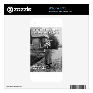 WWI and Its Impact on Women's Lives iPhone 4S Skins