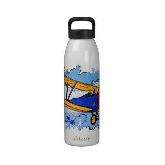 WWI Bi-Plane Liberty Bottle Water Bottle
