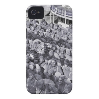 WWI Black Soldiers on Transport Ship Case-Mate iPhone 4 Case