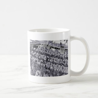WWI Black Soldiers on Transport Ship Coffee Mug