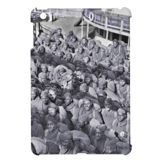 WWI Black Soldiers on Transport Ship iPad Mini Case